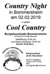 Country Night in Bommersheim
